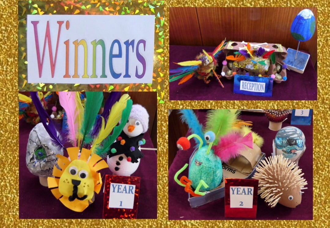PTA Egg Decorating Results | St Martin's Primary School